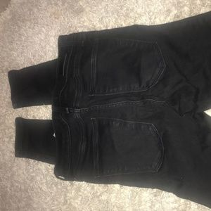 Abercrombie & Fitch Black Jeggings
